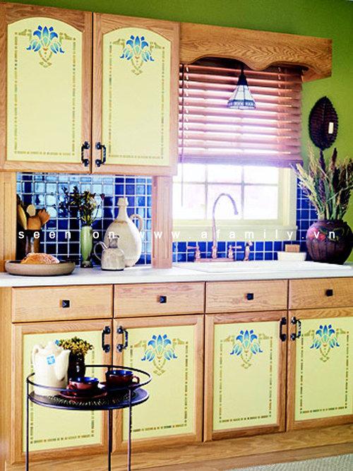 Декор старой кухонной мебели