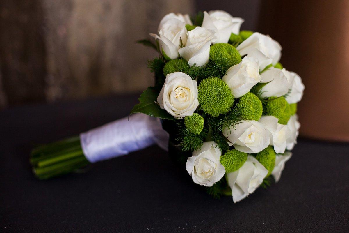 Открытки свадебный букет 3