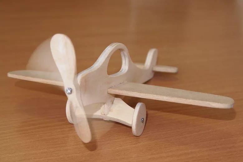 Самолет для детей своими руками из дерева чертежи и