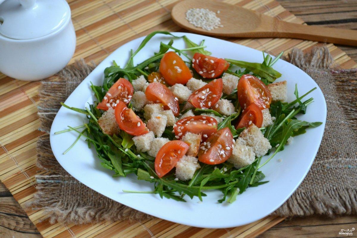 Рецепт салата из рукколы с