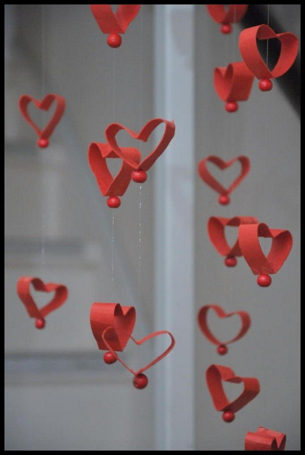 Украшения к дню валентина своими руками