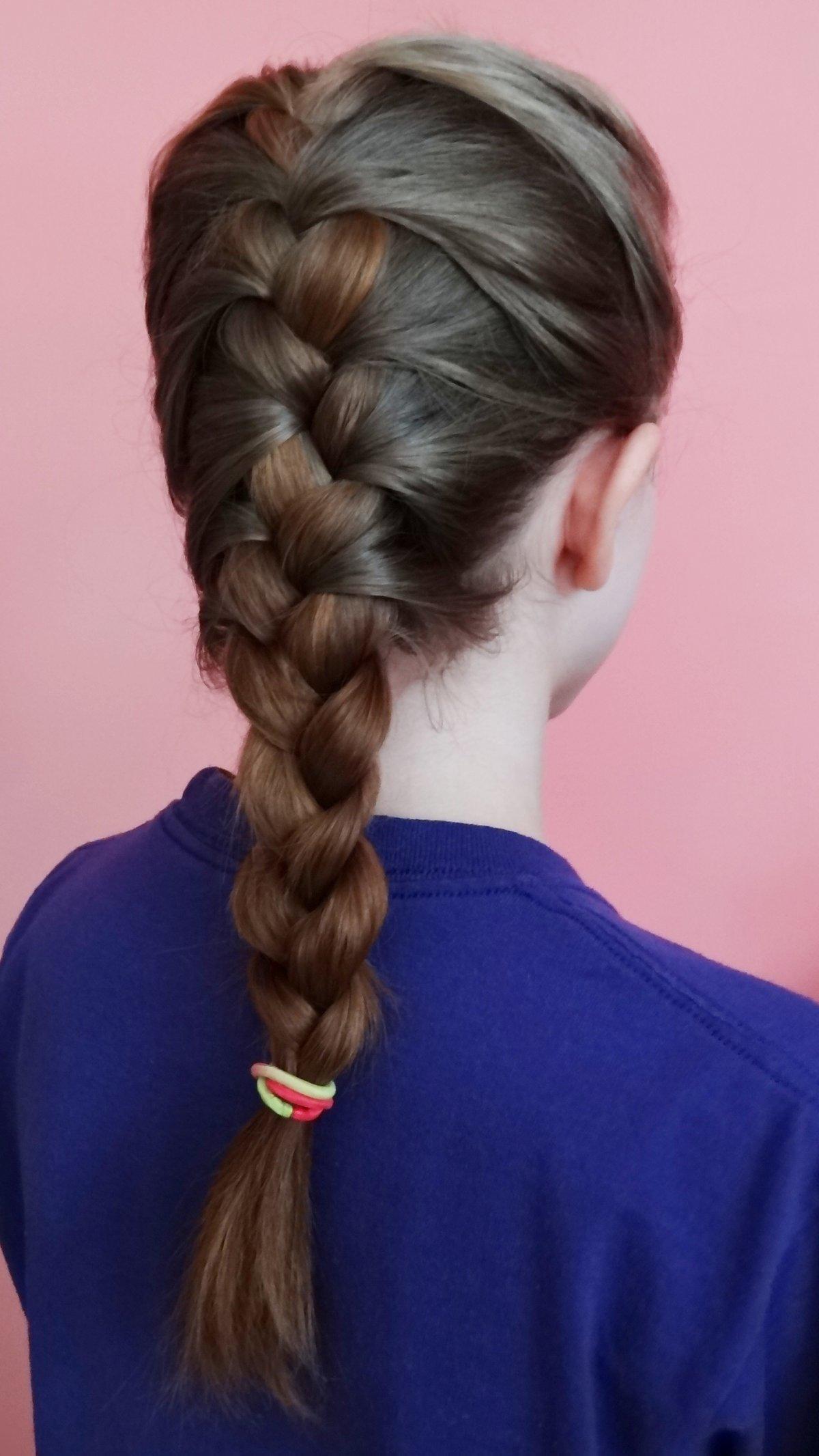 Красивые и простые прически с косами фото