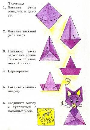 """Урок математики во 2 классе Проект """"Оригами&quot"""