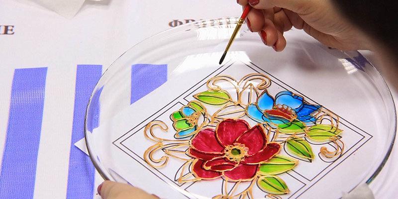 Курсы по росписи по стеклу