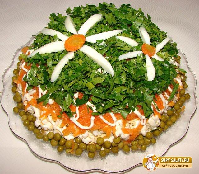 Праздничные салаты на день рождения рецепты и оформление