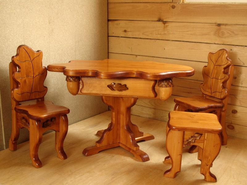 Изготовление мебели из массива дерева своими руками фото