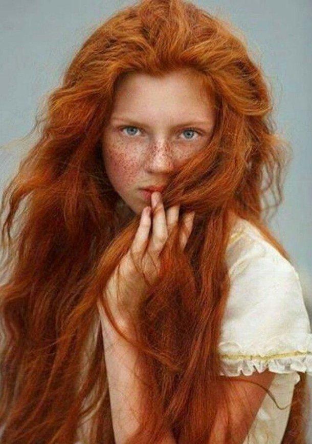 оригинальные картинки и фото рыжих девушек