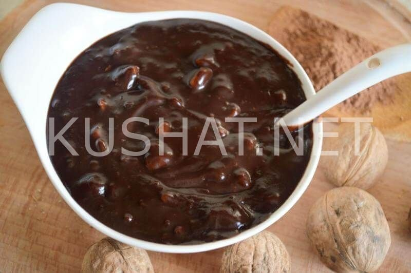 Нутелла в домашних условиях рецепт пошагово