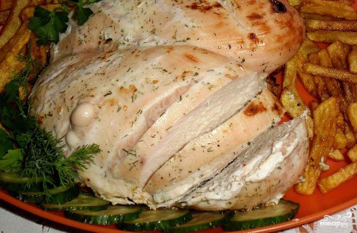 Куриные грудки в духовке диетический