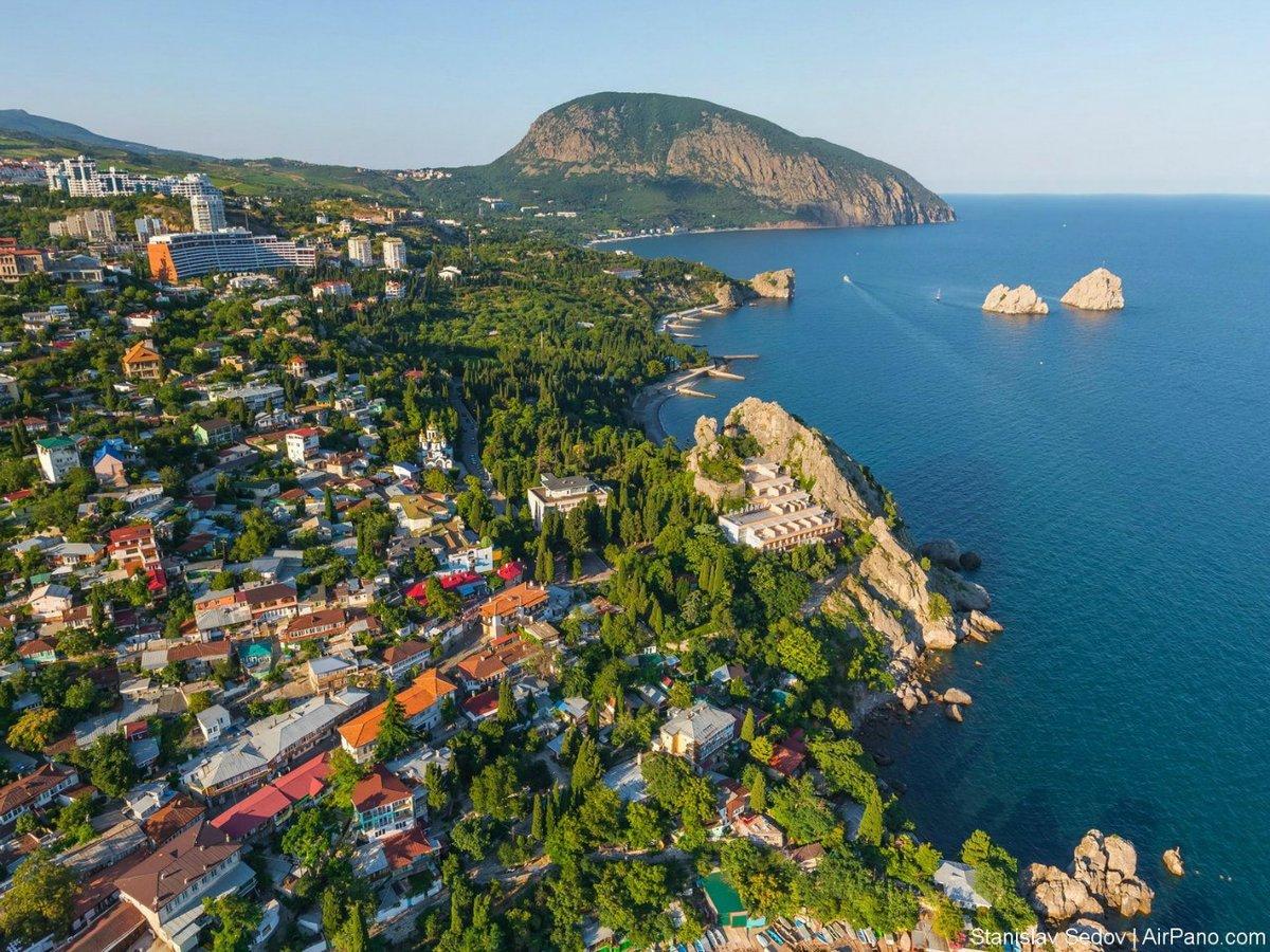 Гурзуф фото города и пляжей 2018