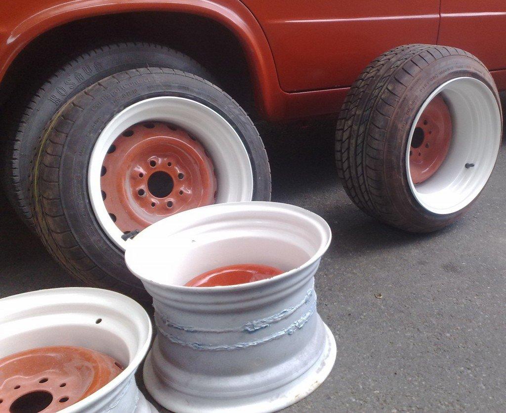 Колесные диски сделанные своими руками