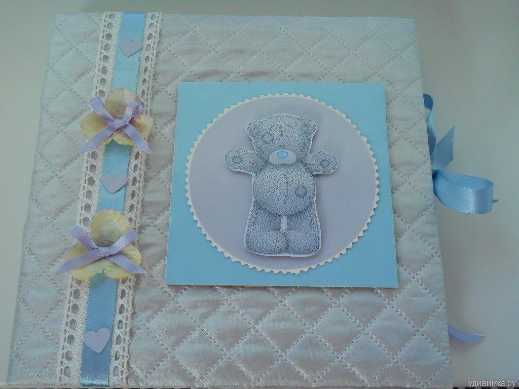 Альбом для новорожденного своими руками скрапбукинг пошагово мастер класс 94