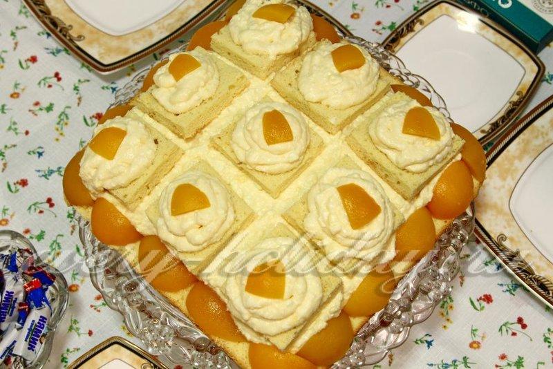 Праздничные бисквитные торты рецепты с фотографиями