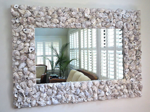 Красивые рамки для зеркала своими руками 18