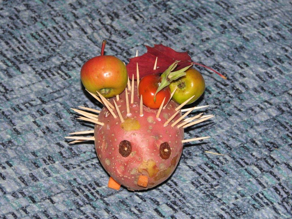 Поделки из картошки на осенний бал 100