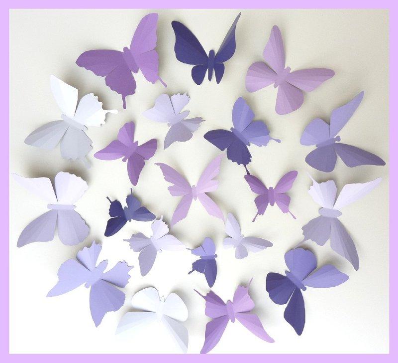 Большие бабочки из бумаги для оформления зала своими руками шаблоны