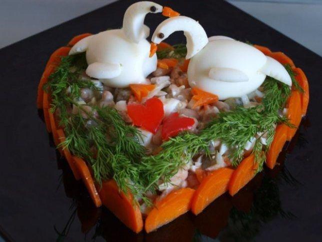 Фото и рецепты красивых и вкусных салатов