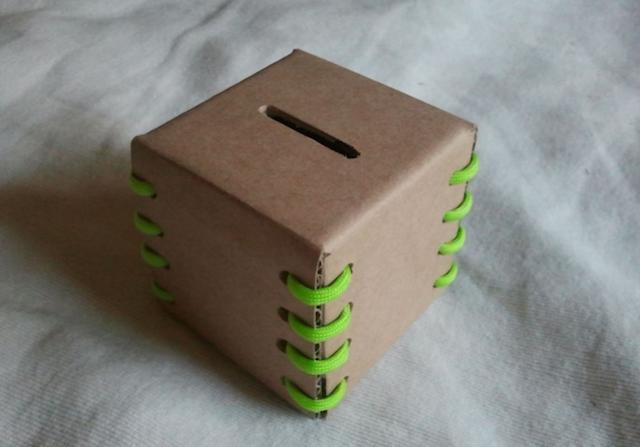 Копилки из коробок