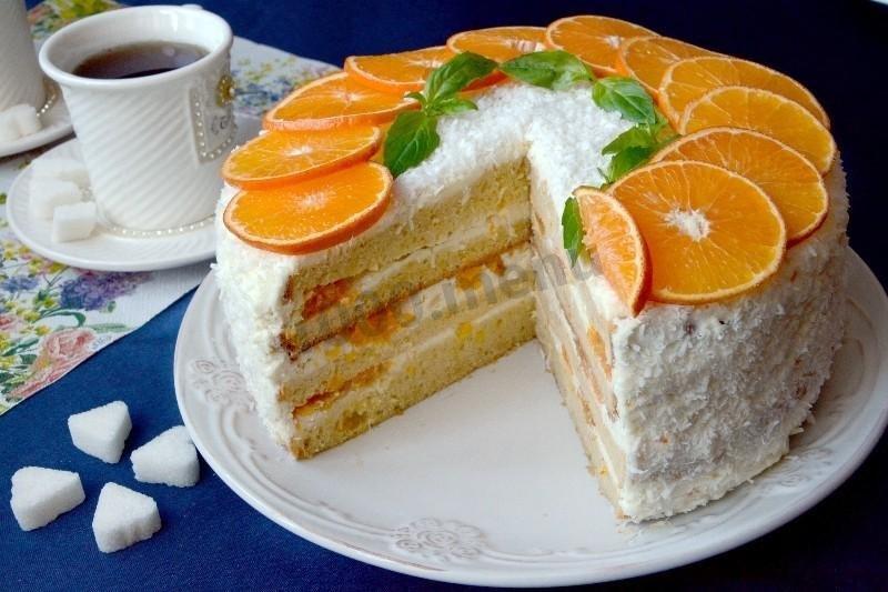 Рецепт торт с творожным сыром