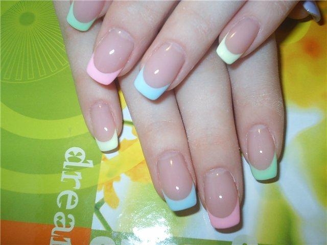 Биогель для ногтей на короткие ногти