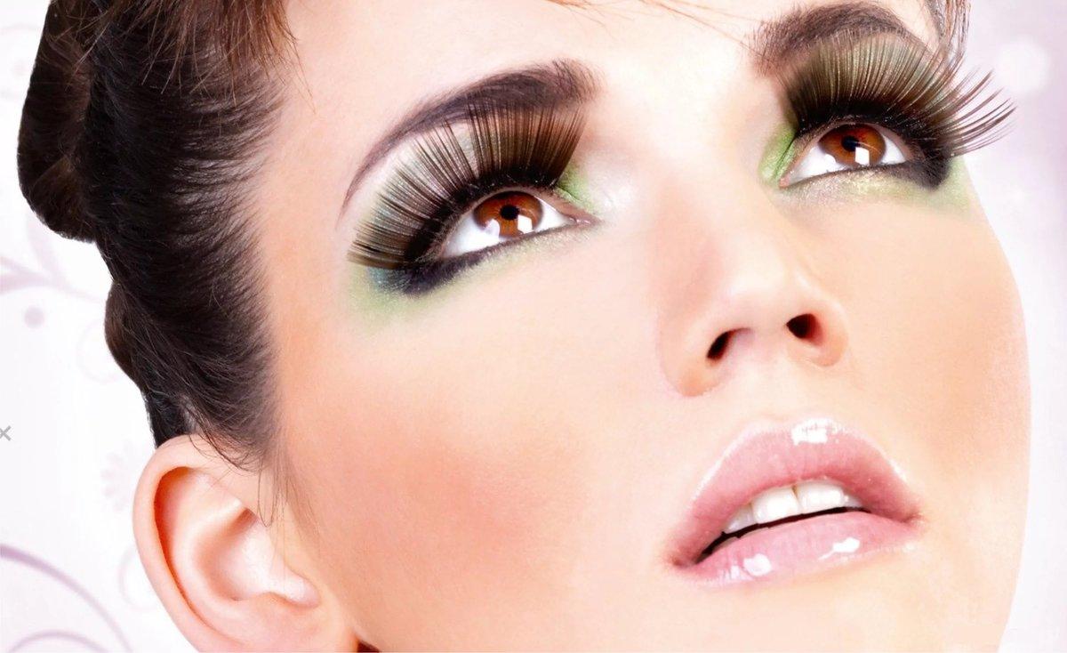 Полуперманентный макияж для ресниц