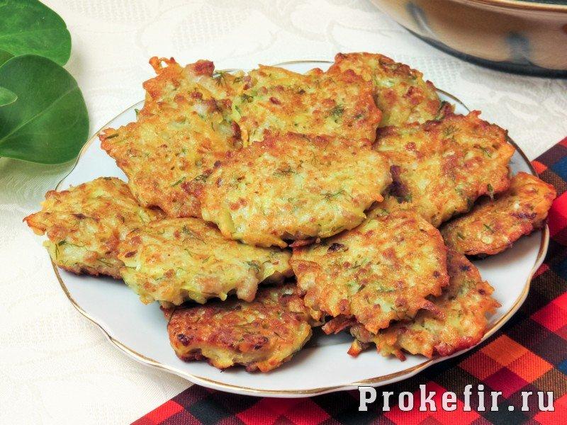 63Драники с картошкой и мясом рецепт
