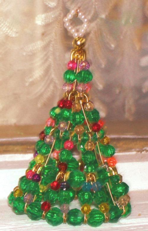 Красивая елка своими руками из бусинок - карточка от пользователя bukina.zinaida в Яндекс.Коллекциях