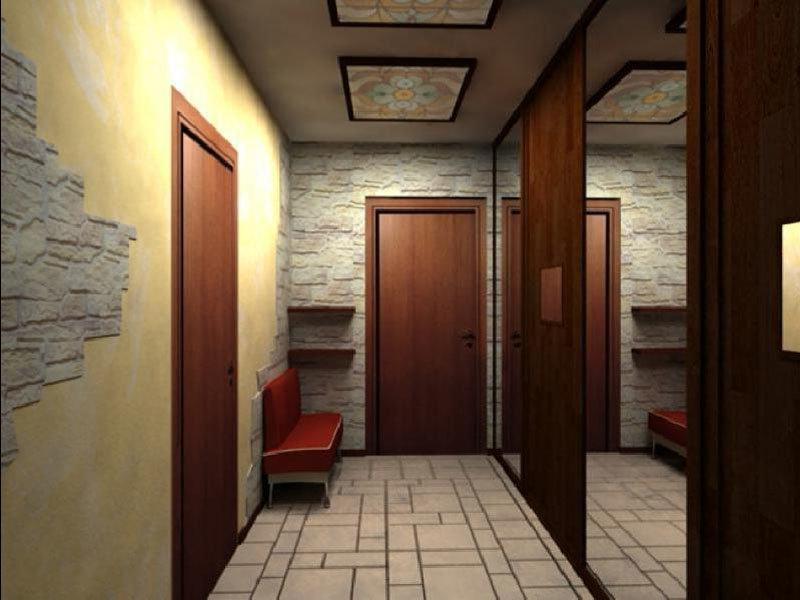 Узкая прихожая коридор идеи для ремонта