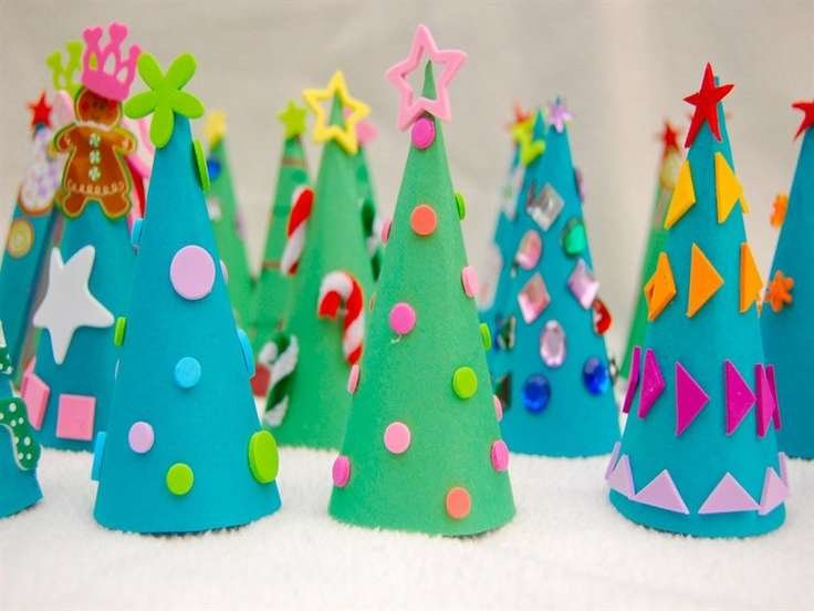Бумажные новогодние поделки своими руками