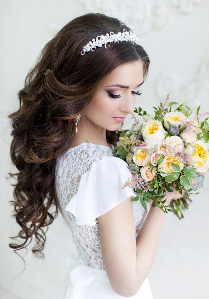новые прически для невесты фото