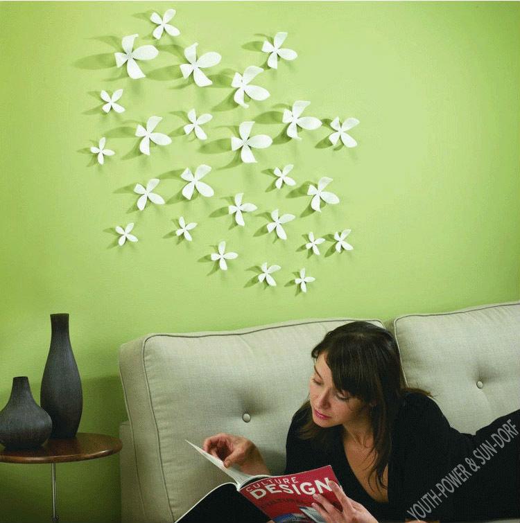 Как украсить свою комнату своими руками из цветной бумаги 989