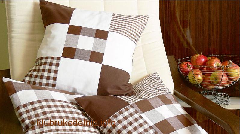 Сшить подушки на диван своими руками фото