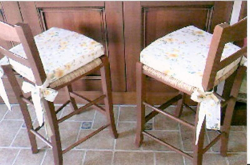 Чехол на сидушку для стула45