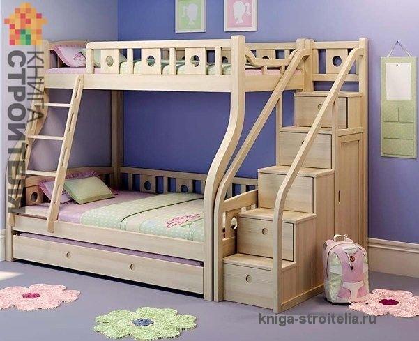 Своими руками детская двухъярусная кроватка