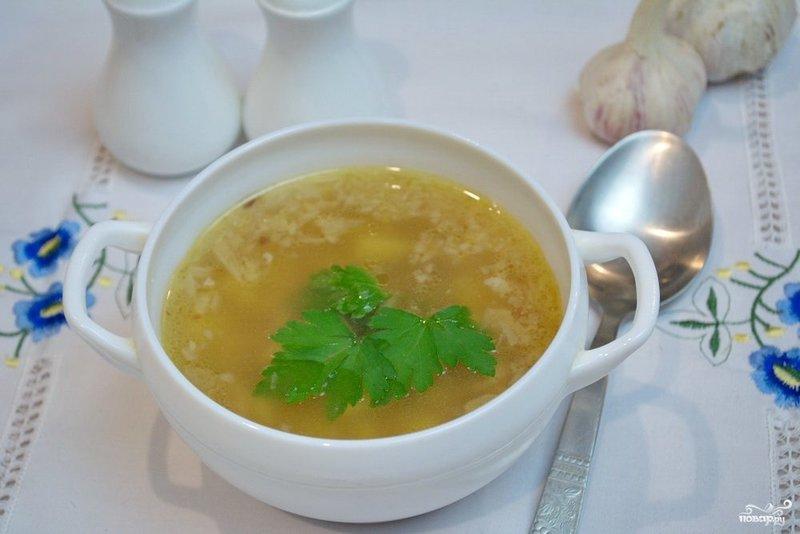 Гречневый суп с пошагово в