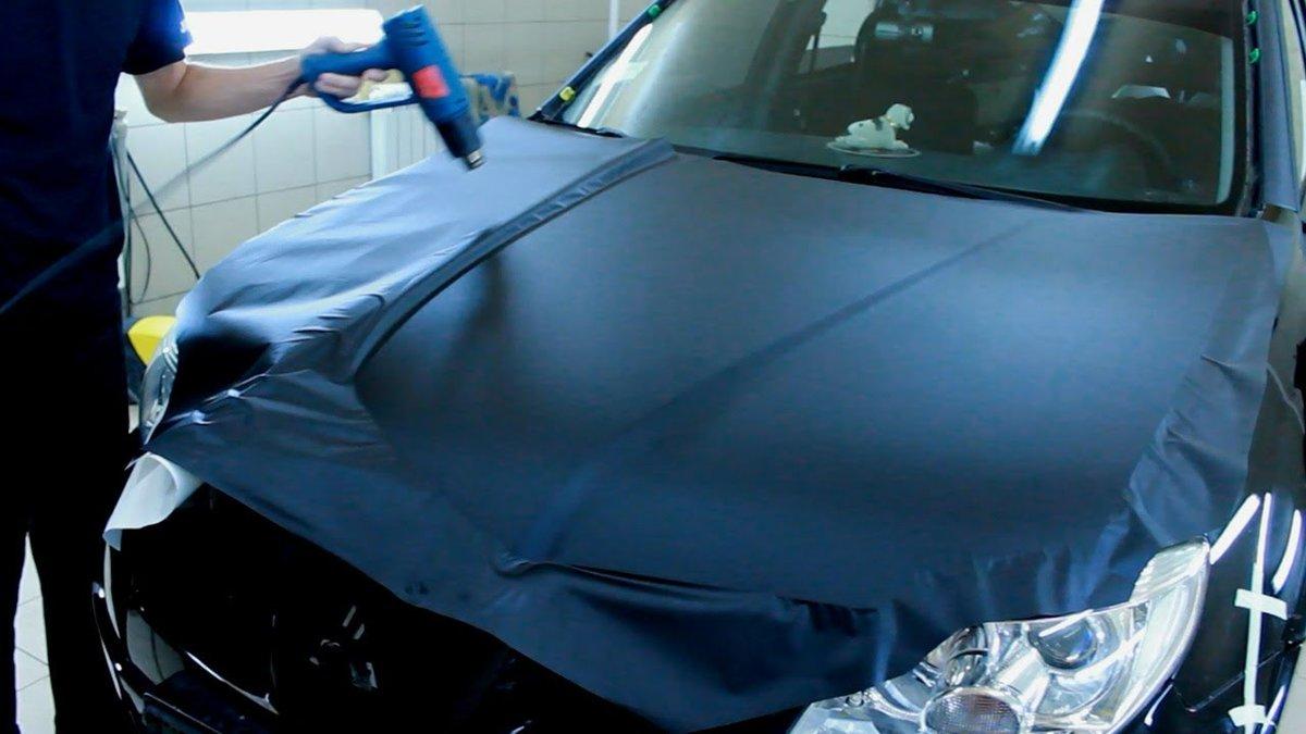 Виниловая плёнка для авто своими руками 84