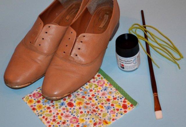 Как из сделать обувь фото