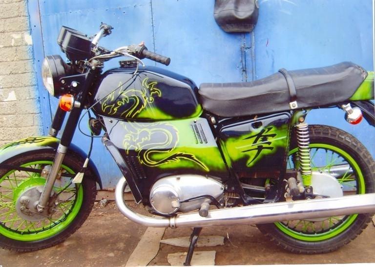 Минск мотоцикл как тюнинг своими руками