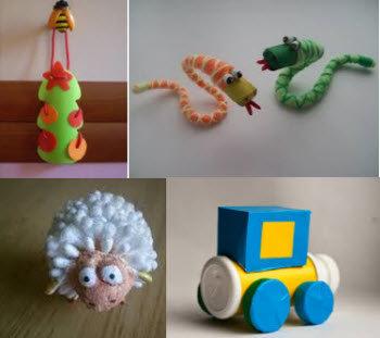 Поделки из подручных материалов в школу