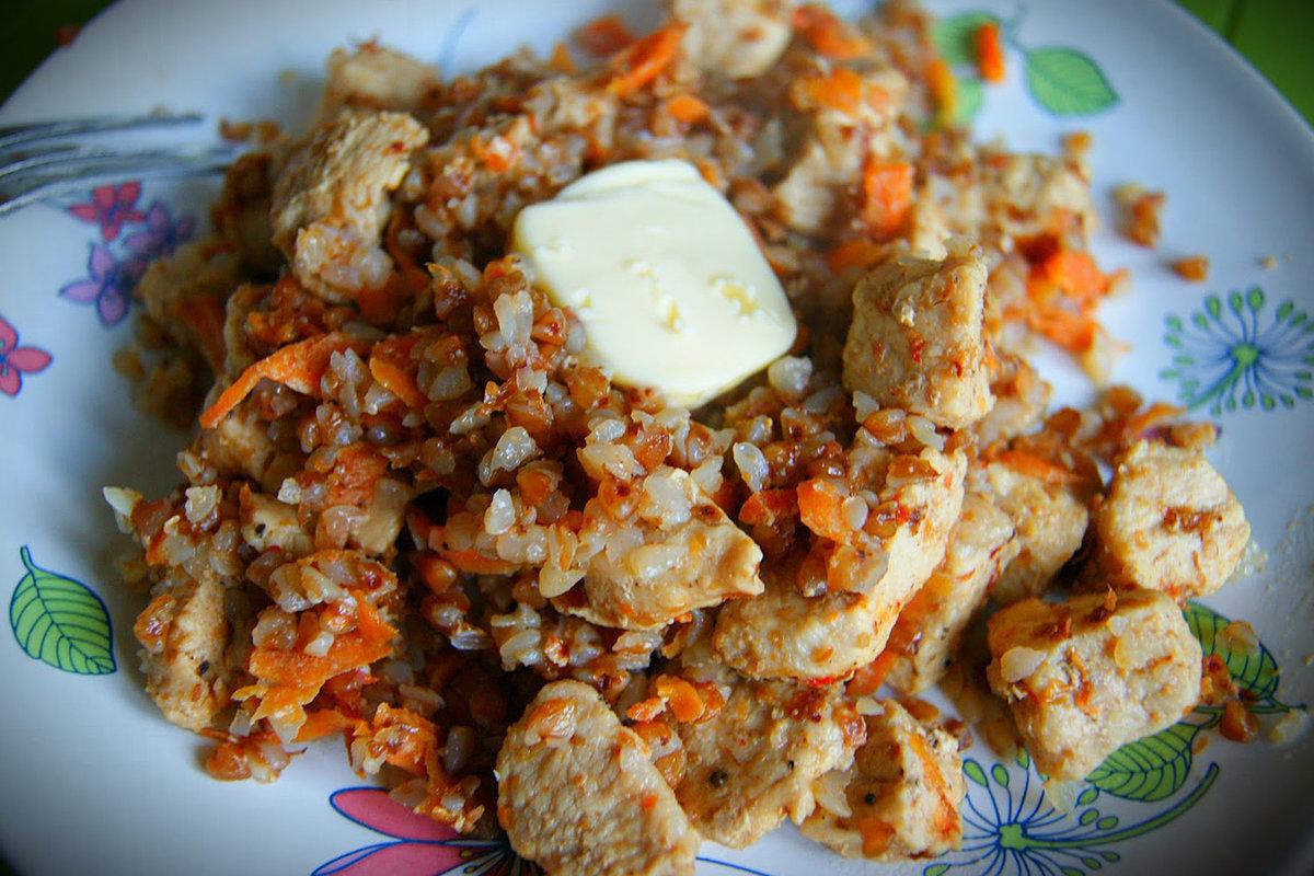 Вкусная гречка с мясом в мультиварке рецепт