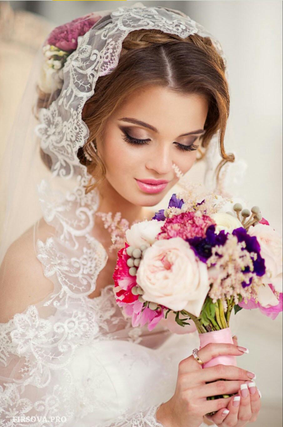 Макияж для невест фото