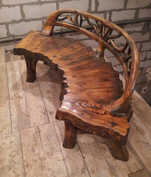 Мебель своими руками из дерева эксклюзивная