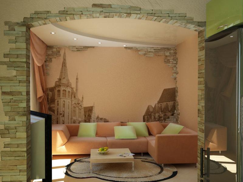 Декор гостиной в квартире своими руками 65