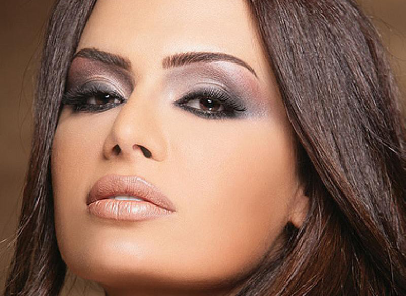 Фото макияжа для смуглой брюнетки