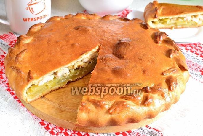Пироги из курицы с картошкой рецепт с