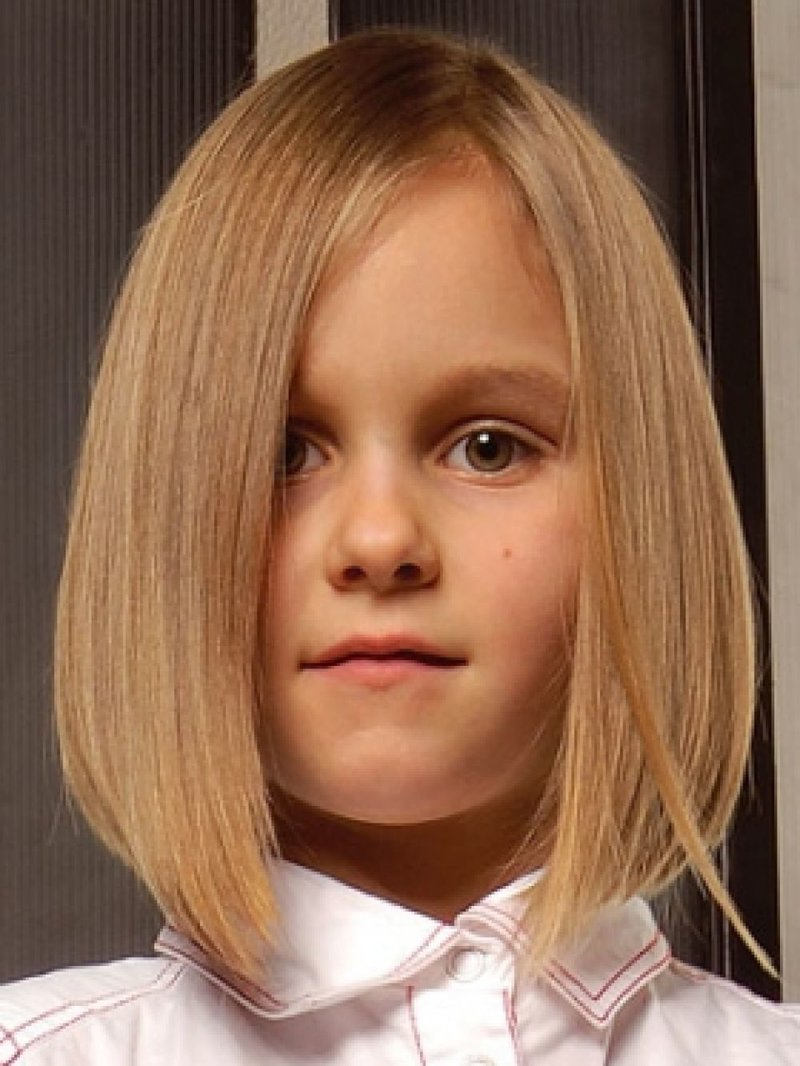 Фото стрижек для девочек 10