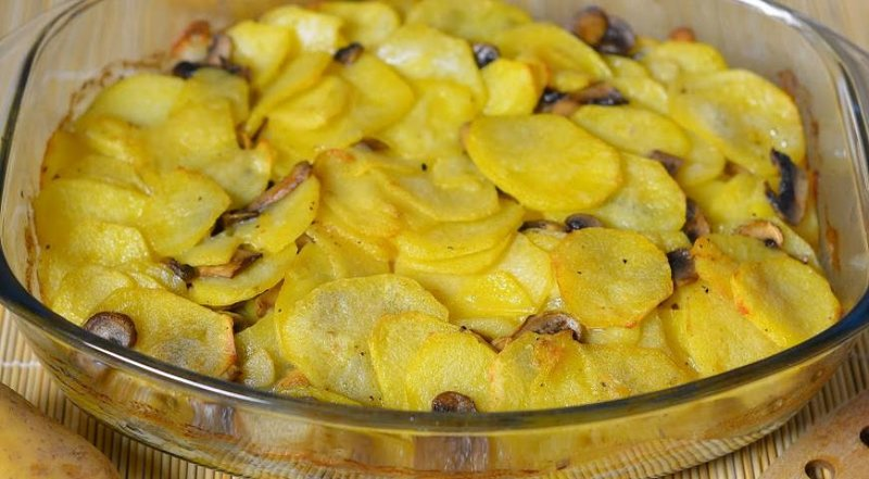 Картошка с груздямиы с фото