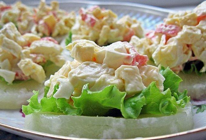 Вкусные салаты и закуски с и рецептами