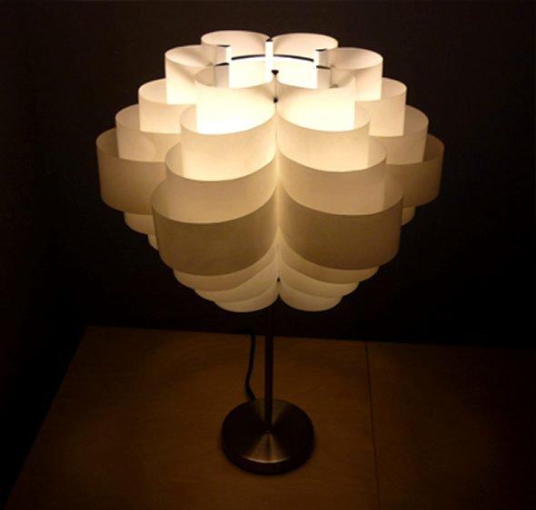 Светильники своими руками из пластики 669