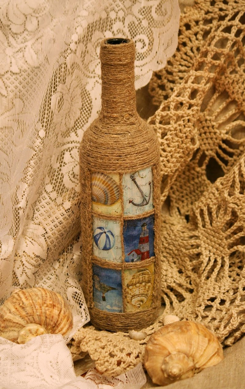 Декор из шпагата